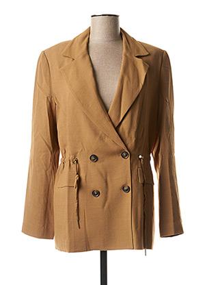 Veste chic / Blazer beige TRUSSARDI JEANS pour femme