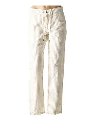 Pantalon chic beige LOIS pour femme