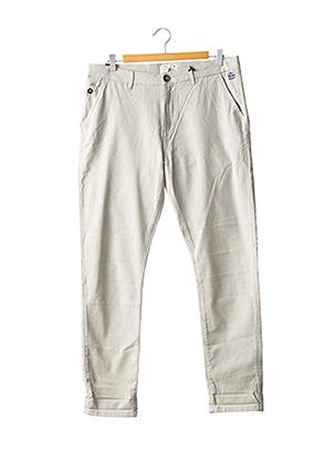Pantalon casual gris REDMAN pour homme