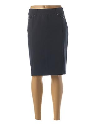 Jupe mi-longue bleu FRED SABATIER pour femme