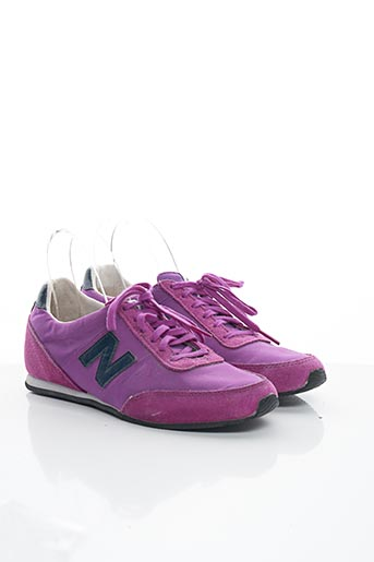 Baskets violet NEW BALANCE pour femme