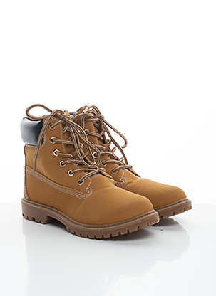 Bottines/Boots beige BAMBOO pour femme
