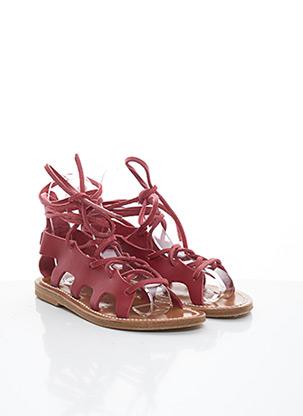 Sandales/Nu pieds rouge K.JACQUES pour femme