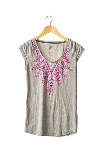 T-shirt manches courtes gris REEBOK pour femme