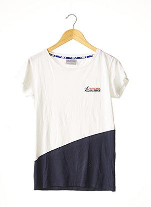 T-shirt manches courtes bleu RED BULL AIR RACE pour femme