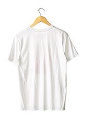 T-shirt manches courtes blanc SANS MARQUE pour femme seconde vue