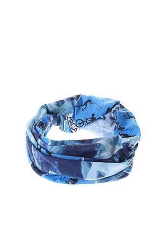 Col / Tour de cou bleu ARCANSON pour femme