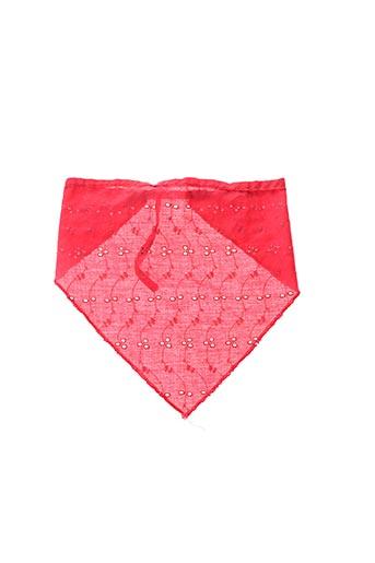 Foulard rouge SANS MARQUE pour fille