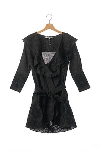 Robe courte noir SVITLAYA pour femme