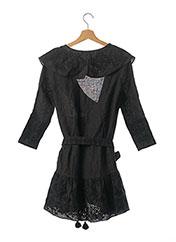 Robe courte noir SVITLAYA pour femme seconde vue