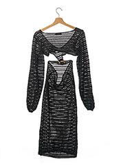 Robe pull noir PRETTY LITTLE THING pour femme seconde vue