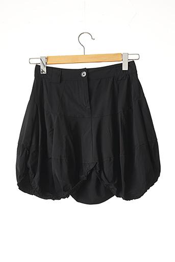 Jupe courte noir MARITHE & FRANCOIS GIRBAUD pour femme