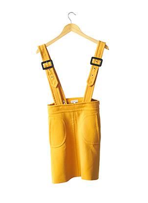 Jupe Salopette jaune CLAUDIE PIERLOT pour femme