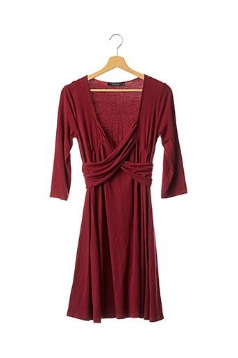 Robe mi-longue rouge TWIN-SET SIMONA BARBIERI pour femme