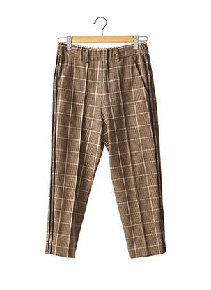 Pantalon 7/8 marron ALYSI pour femme