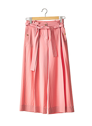 Pantalon 7/8 rose ALYSI pour femme