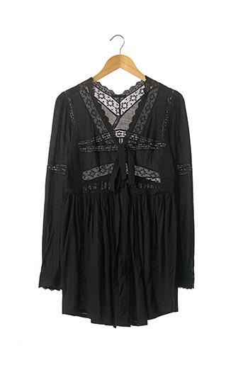 Robe courte noir HIGH pour femme