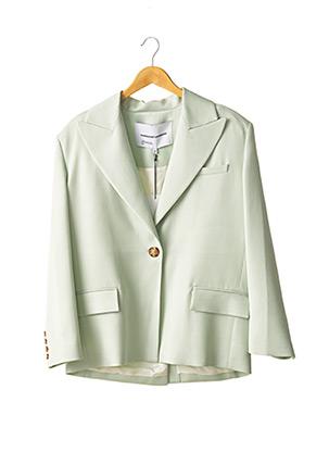 Veste casual vert MARGAUX LONNBERG pour femme