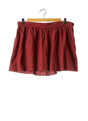 Mini-jupe orange AMERICAN VINTAGE pour femme