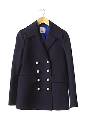 Manteau court bleu PINKO pour femme