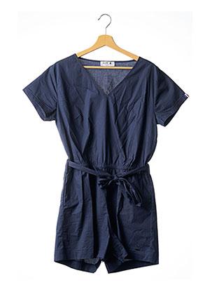 Combishort bleu LUDIS pour femme
