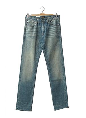 Jeans coupe droite bleu JACK & JONES pour homme