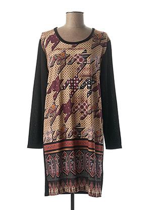 Robe pull noir JAZZ pour femme