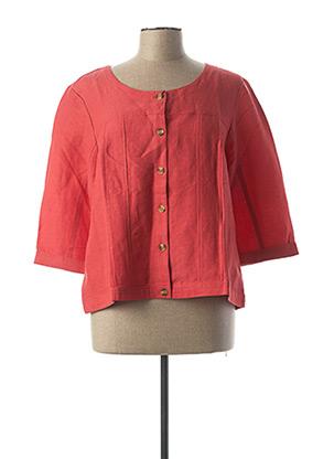 Veste chic / Blazer rouge ESPRIT DE LA MER pour femme