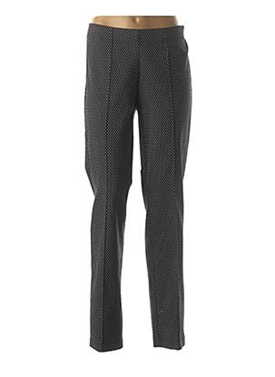Pantalon casual noir FRANK WALDER pour femme