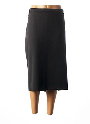 Jupe mi-longue noir CHRISTIAN MARRY pour femme