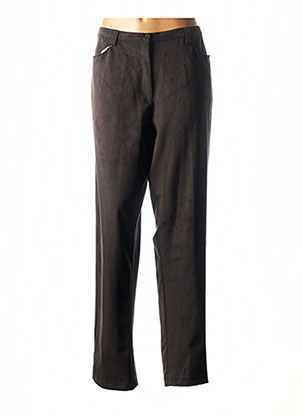 Pantalon chic noir ALAIN WEIZ pour femme