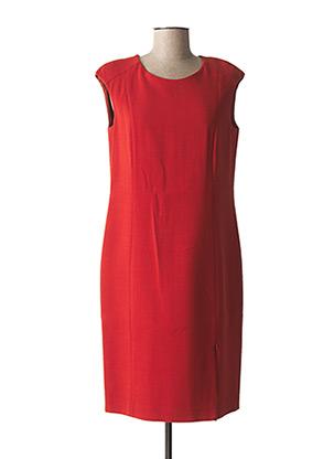 Robe mi-longue orange GERARD DAREL pour femme