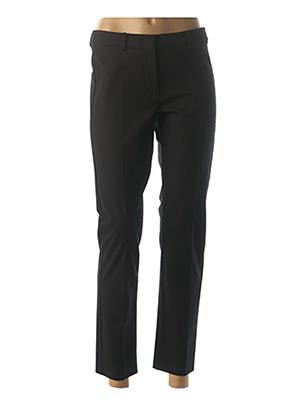 Pantalon 7/8 noir WEEKEND MAXMARA pour femme