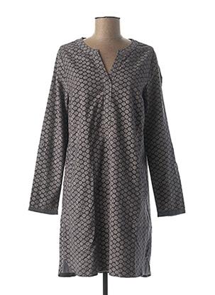 Robe courte gris CECIL pour femme