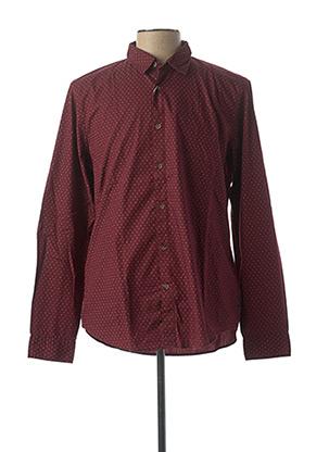 Chemise manches longues rouge ESPRIT pour homme