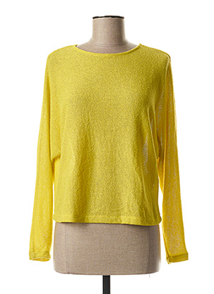 Pull col rond vert B.YOUNG pour femme