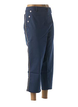 Pantalon 7/8 bleu DIANE LAURY pour femme