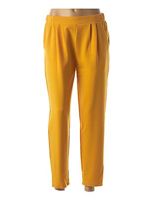 Pantalon 7/8 jaune MINIMUM pour femme