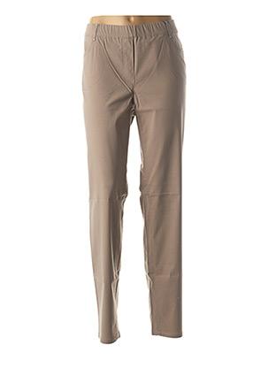 Pantalon chic beige STARK pour femme