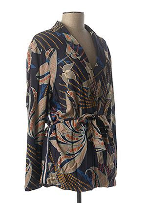 Veste casual bleu JULIE GUERLANDE pour femme