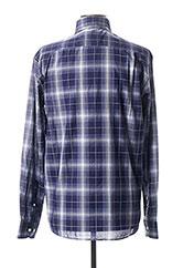 Chemise manches longues violet SERGE BLANCO pour homme seconde vue