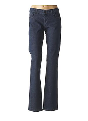 Jeans coupe droite bleu PENNYBLACK pour femme