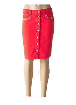 Jupe courte rouge FUEGO WOMAN pour femme