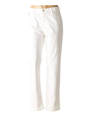 Pantalon casual blanc FUEGO WOMAN pour femme