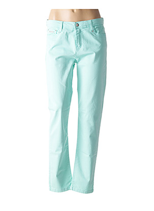Pantalon casual bleu FUEGO WOMAN pour femme