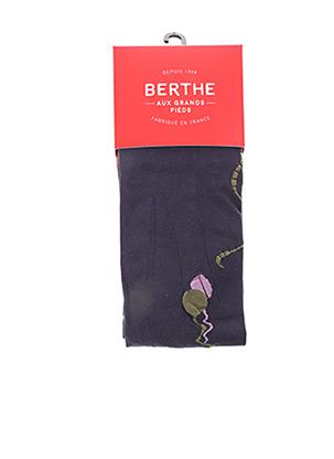 Collants violet BERTHE AUX GRANDS PIEDS pour femme