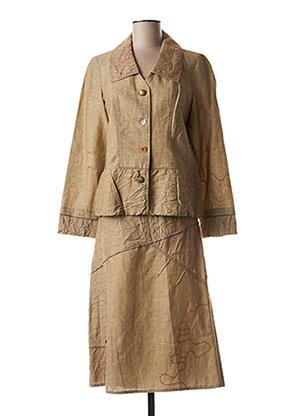 Veste/jupe beige LEWINGER pour femme