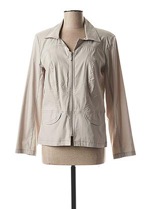 Veste casual gris TELMAIL pour femme