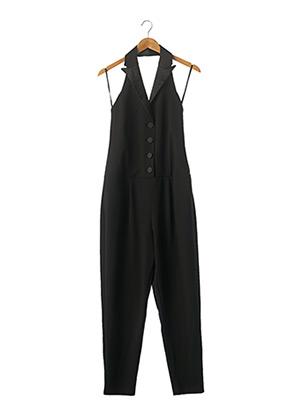 Combi-pantalon noir IMPERIAL pour femme