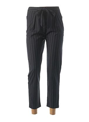 Pantalon 7/8 bleu LA PETITE ETOILE pour femme